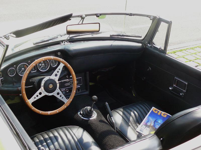 Mgc roadstar for Interior auf deutsch